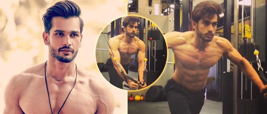Rohit Khandelwal muscoli