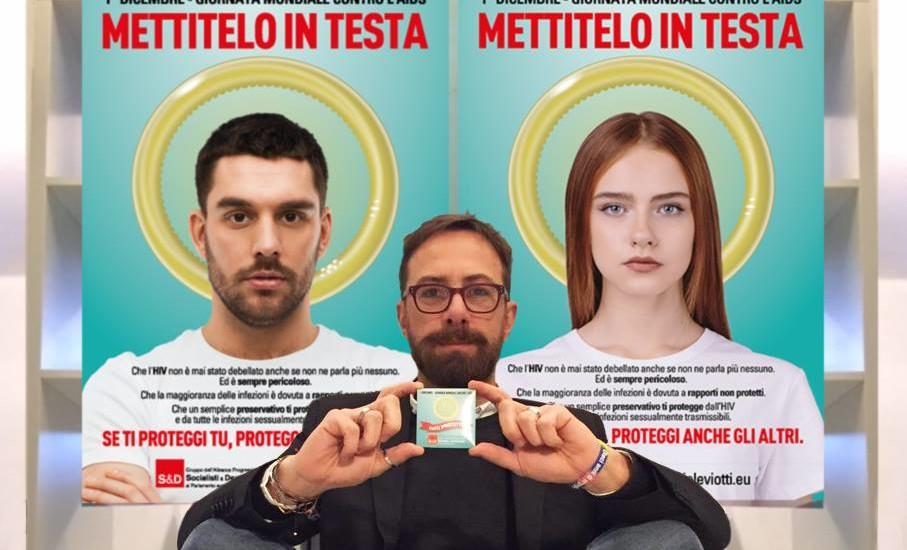 Daniele Viotti, aids campagna