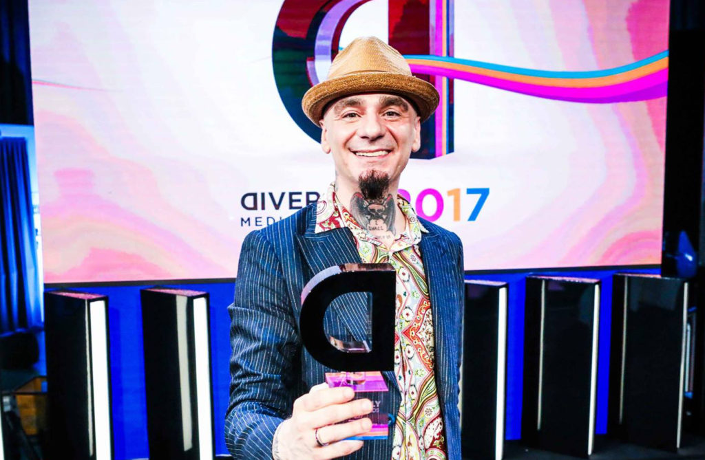Diversity Media Awards 2017 , j-ax