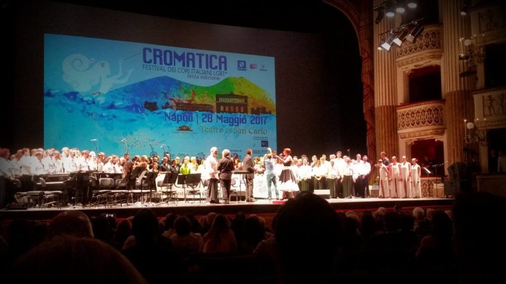 Cromatica, festival lgbt, napoli, teatro san carlo