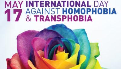 giornata contro l'omofobia transfobia