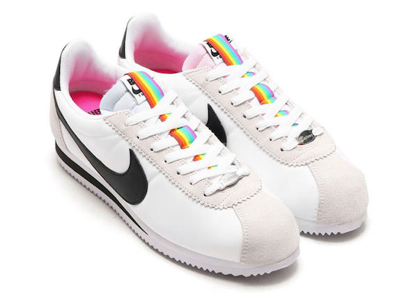 nike, rainbow, lgbt scarpe