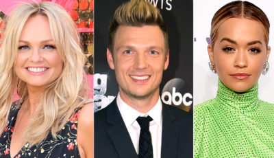 emma bunton, nick carter, rita ora, boy band