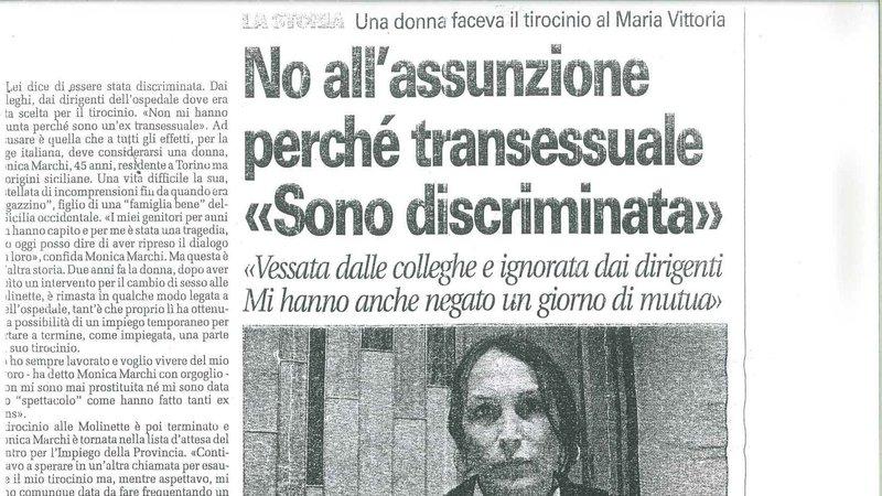 transfobia, italia, lavoro