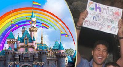 proposta di matrimonio gay, disneyland