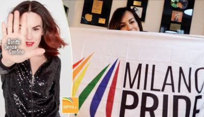 Alexia, pride milano 2017