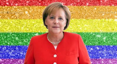 Merkel apertura storica: propone legge per equiparare le unioni LGBTQ ai matrimoni