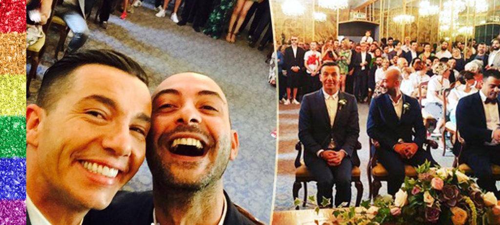 Milano, Diego Passoni e Pier Mario Simula si sono sposati il giorno del Pride (VIDEO)