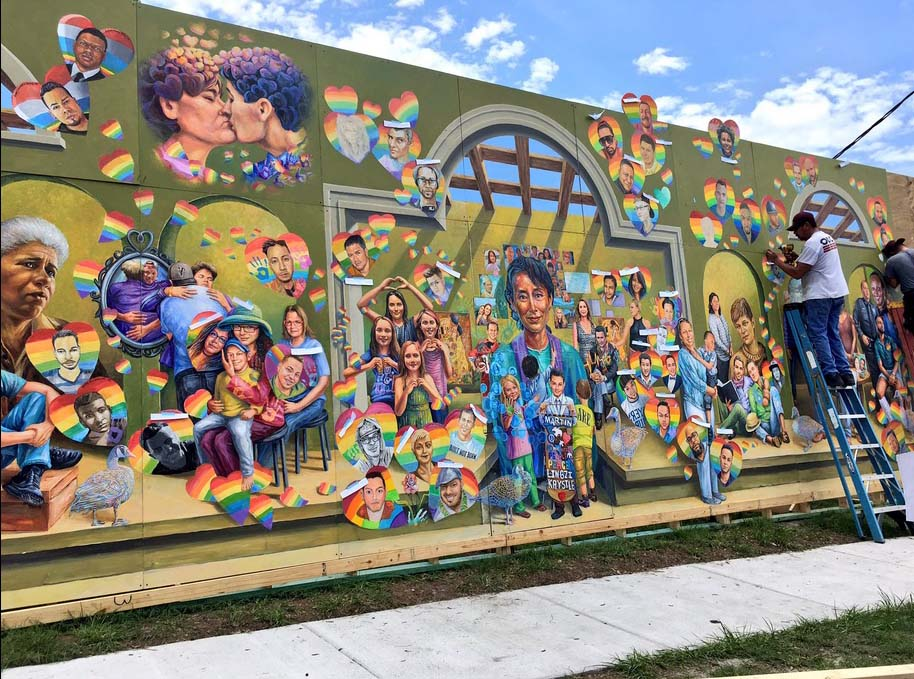 murales, strage orlando