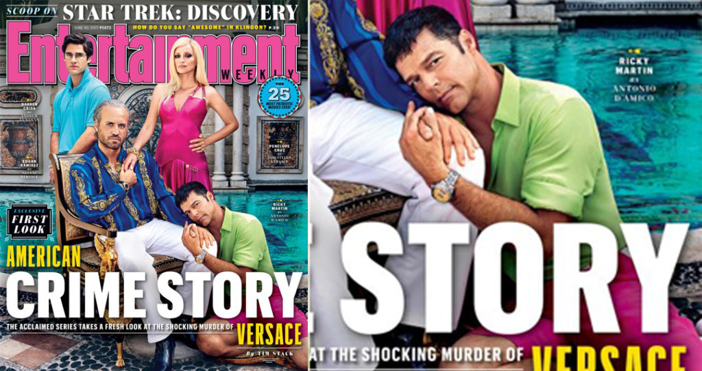 The Assassination of Gianni Versace: le foto ufficiali degli attori con Ricky Martin hot (VIDEO)
