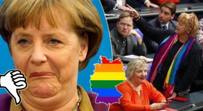 Germania: approvata legge per legalizzare i matrimoni omosessuali ma Merkel vota contro