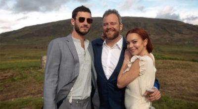 """L'emozionante video di Lindsay Lohan al matrimonio del suo amico gay: """" viva l'amore"""""""