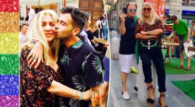 mara venier, gay pride milano 2017