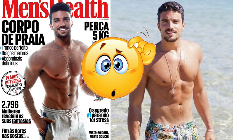 Mariano di Vaio usa photoshop su Men's Health