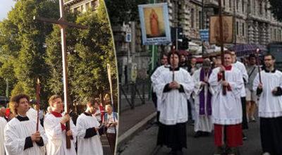 Milano, processione di preghiera contro i gay: