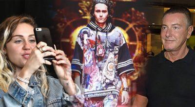 È guerra sui social tra Stefano Gabbana e Miley Cyrus: