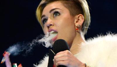 Miley Cyrus dice stop alla marijuana: