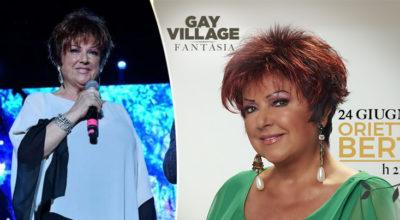 Orietta Berti celebra 50 anni di carriera al Gay Village: