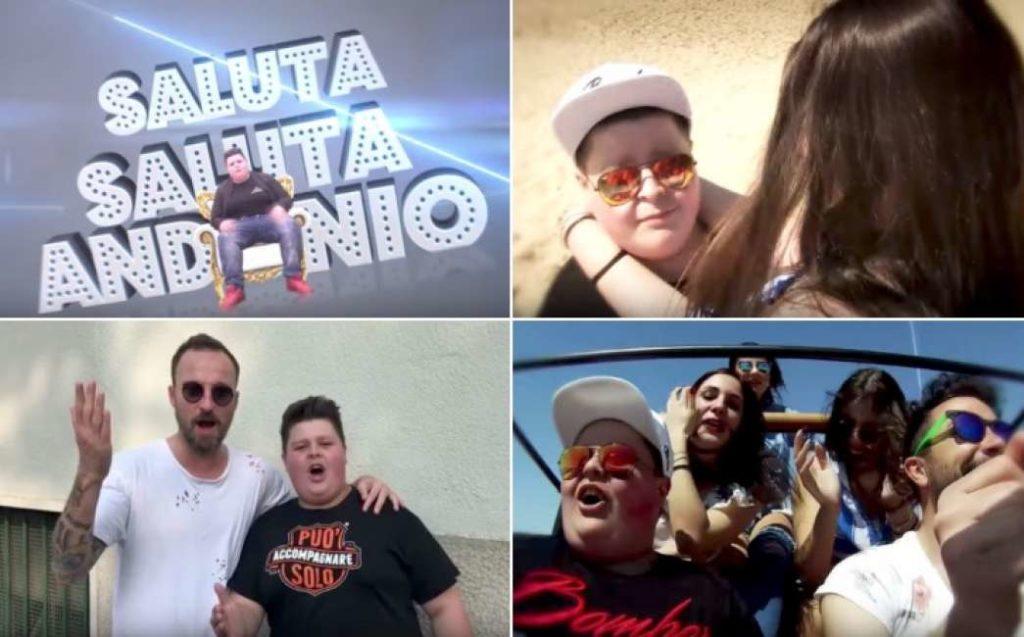 """""""Saluta Andonio"""" diventa una hit per l'estate"""