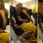 """RyanAir: coppia fa sesso a bordo dell'aereo ignara dei passanti: """"nessuno ha un preservativo?"""" (VIDEO)"""