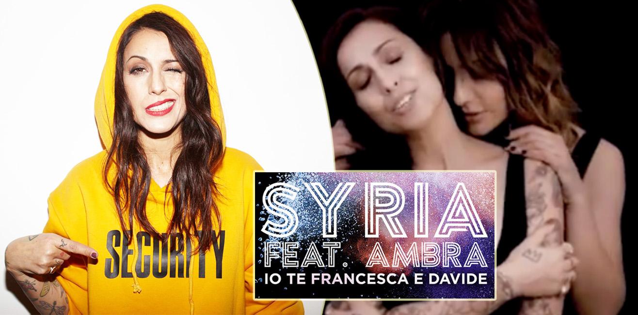 Io te Francesca e Davide, arriva il video ufficiale di Syria feat. Ambra