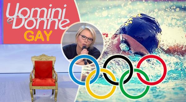 Uomini e Donne: il prossimo tronista gay potrebbe essere un campione di nuoto