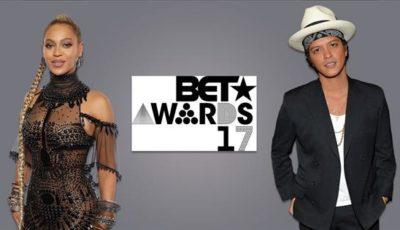 BET Awards 2017, trionfano Beyoncé e Bruno Mars