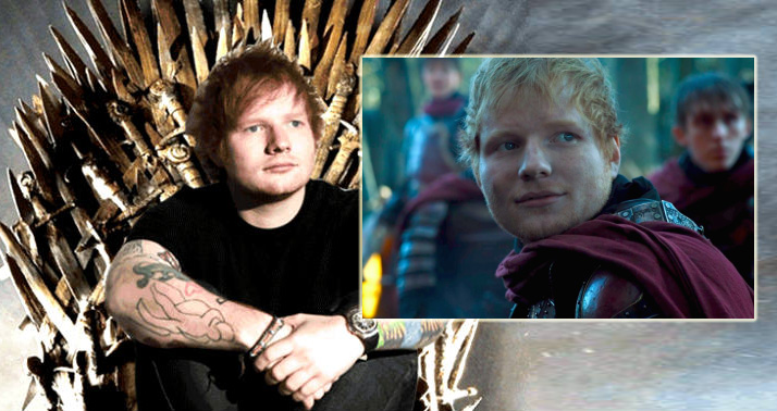 Il Trono di Spade, Ed Sheeran, Game of Thrones