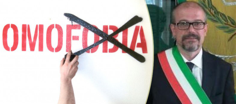 Caivano (Napoli), sindaco razzista contro i gay: la denuncia di Arcigay Napoli