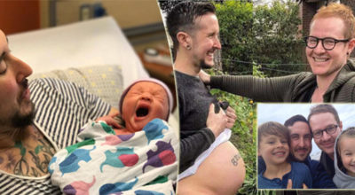 Usa, uomo transgendere ha appena partorito il suo primo figlio biologico: la coppia ha altri due figli