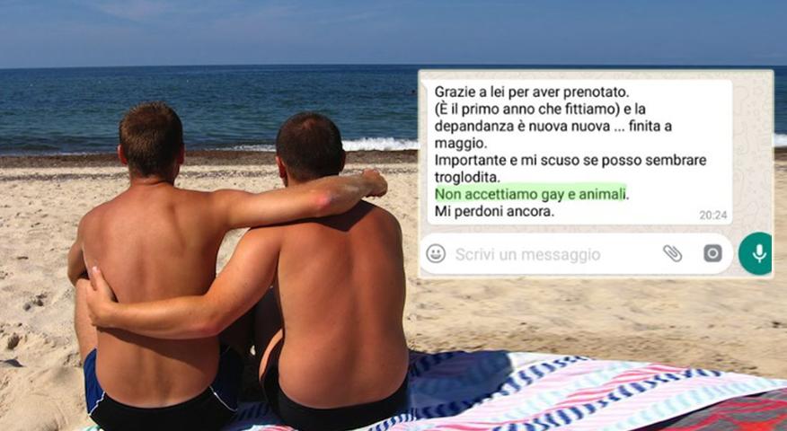 calabria, coppia gay, omofobia