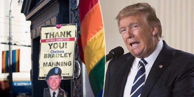 donald trump, esercito, transgender