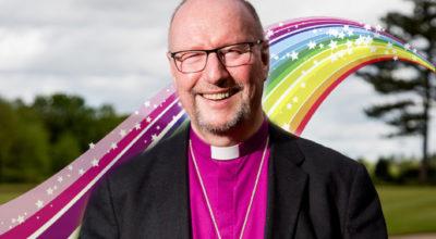 il vescovo della città Paul Bayes
