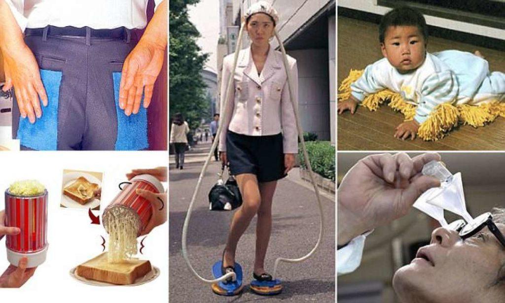 In Giappone inventano proprio di tutto: ecco alcune assurde invenzioni