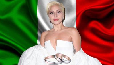 lady gaga, matrimonio, italia