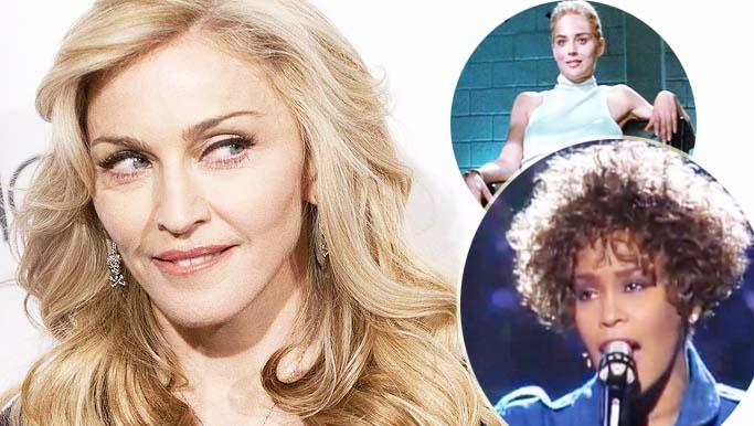 """All'asta la lettera dove Madonna critica Whitney Houston e Sharon Stone definendole """"entrambe mediocri"""""""