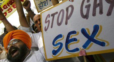 omofobia, india, gay