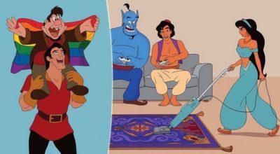 I personaggi Disney nel 2017, quando la favola è finita