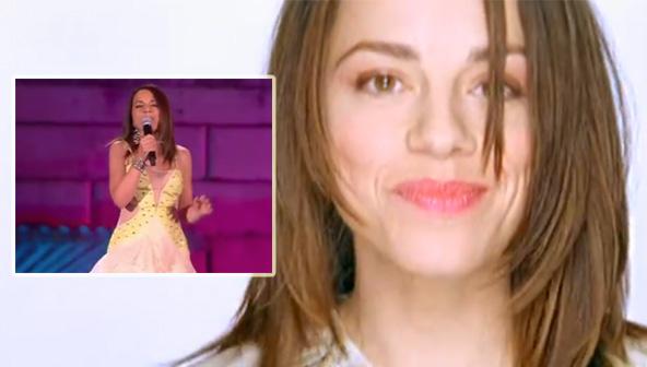 """Valeria Rossi torna a cantare """"Tre Parole"""" 16 anni dopo"""