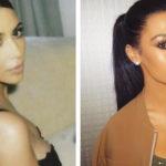 Sosia Kim Kardashian