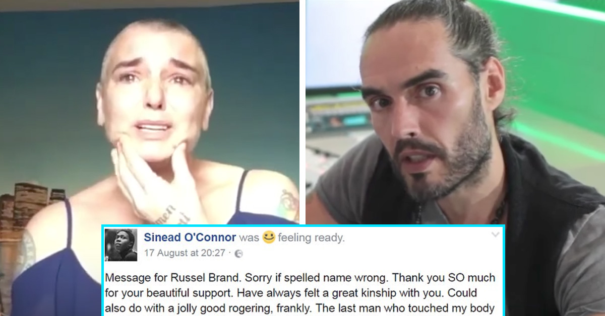 Russell Brand Sinead O'Connor