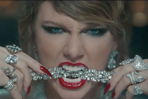 Taylor Swift supera il record di Adele con Look What You Made Me Do (VIDEO)
