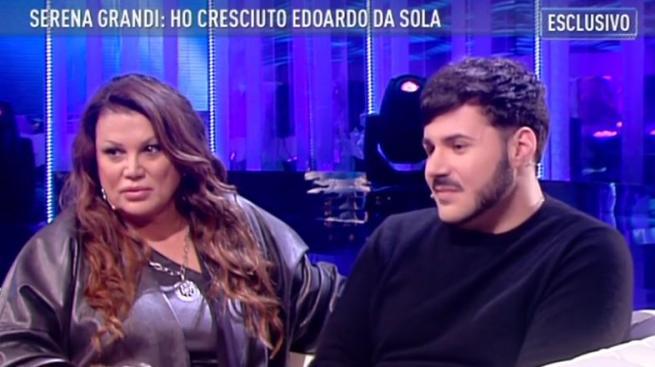 """Grande Fratello Vip: Serena Grandi a Malgioglio: """"io amo i gay, mio figlio è gay"""" (VIDEO)"""