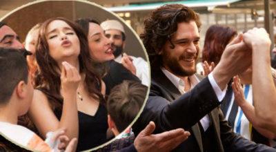 Emilia Clarke e Kit Harington
