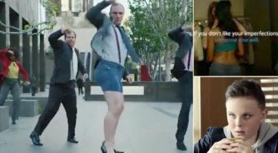 La nuova pubblicità che non piace: uomo con tacchi, bacio lesbo e lutto (VIDEO)