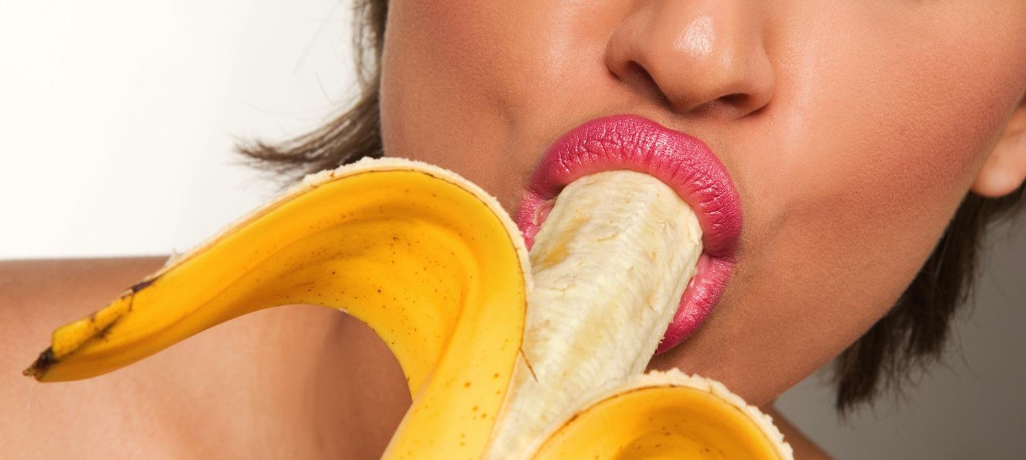mangiare banana