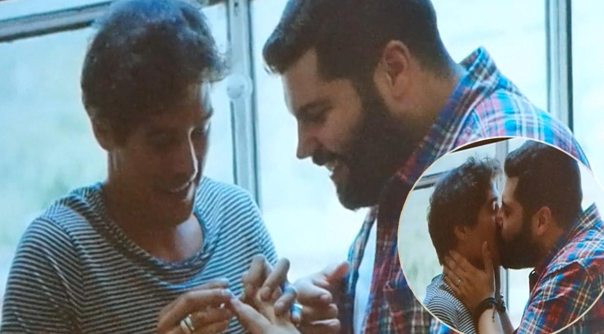 salvatore esposito, bacio gay, matrimonio italiano