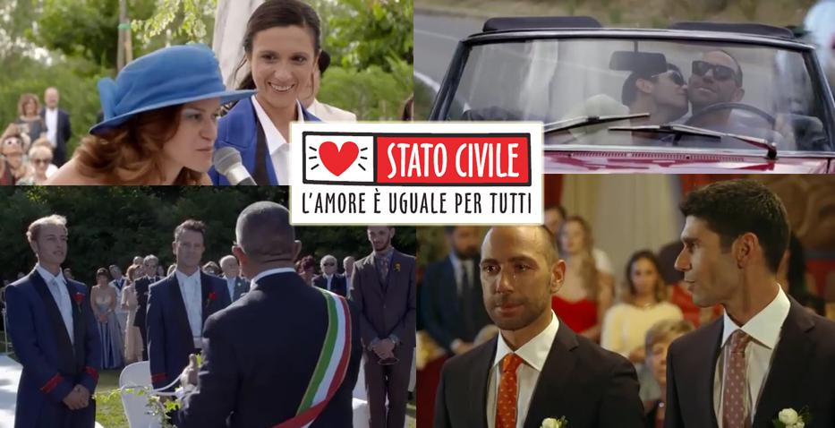Torna in tv su Raitre Stato Civile: l'amore è uguale per tutti (VIDEO)