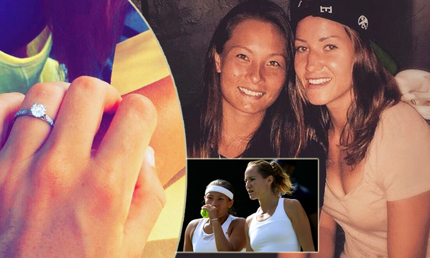 Tara e Conny, le fidanzate del tennis: «Vincere insieme è speciale»