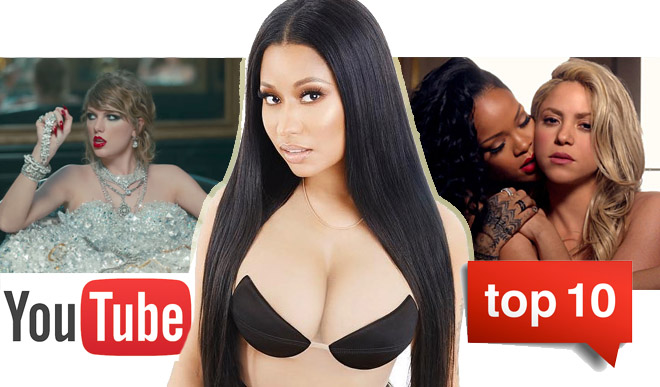youtube, top 10, video musica